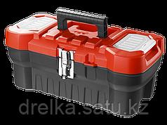 """Ящик для инструментов ЗУБР 38180-16_z01, МАСТЕР, пластиковый, для инструмента, 16"""""""