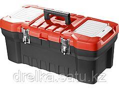 """Ящик для инструментов ЗУБР 38180-22_z01, МАСТЕР, пластиковый, для инструмента, 22"""""""