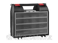 Ящик для инструментов ЗУБР 38035-14, МАСТЕР, пластмассовый электроинструмента, 36 х 32,3 х 14,5 см, 14 дюймов