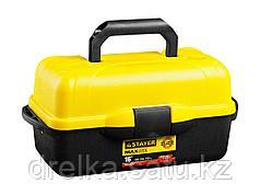 """Ящик для инструментов STAYER 2-38005-16_z01, MULTY TRAY, пластиковый, раскладной, 400 x 205 x 190 мм, 16"""""""