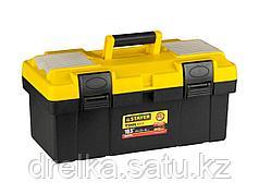 Ящик для инструментов STAYER 2-38015-16_z01, MASTER, пластиковый, 420 х 220 х 195 мм, 16,5 дюйма