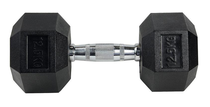 Гантели гексагональные 12,5+12,5 кг, фото 2