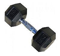 Гантели шестигранные пара 15+15 кг