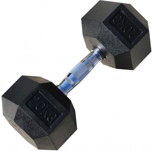 Гантели гексагональные по 20+20 кг