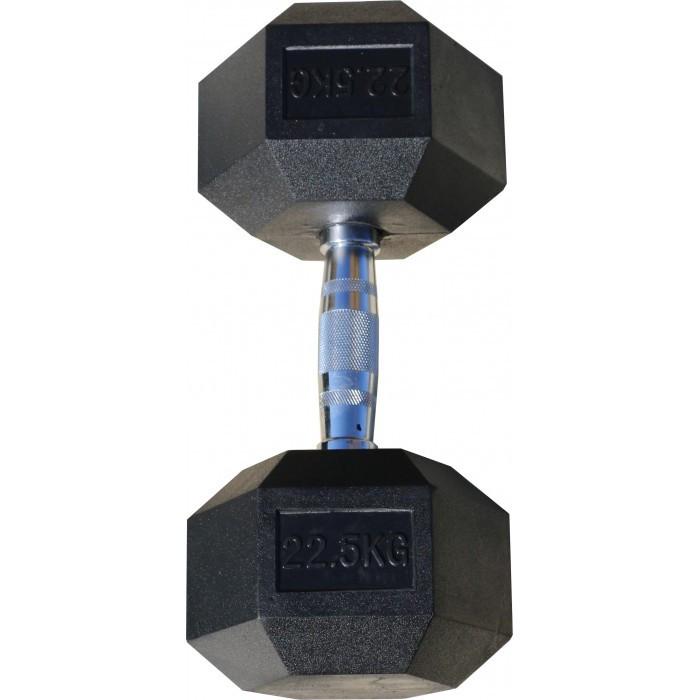 Гантели гексагональные по 22,5+22,5 кг