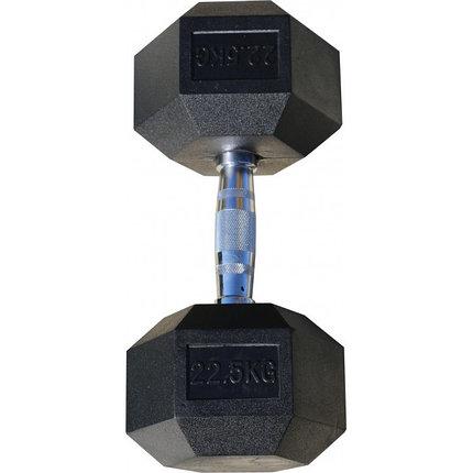 Гантели гексагональные по 22,5+22,5 кг, фото 2