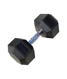 Гантели гексагональные по 27,5+27,5 кг