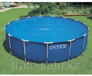 Обогревающий тент для бассейна Intex 29023 (457см)