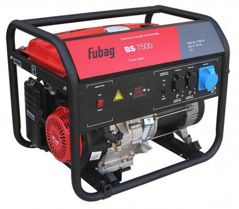 Бензиновая электростанция FUBAG BS 7500, фото 2