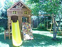 Деревянный детский комплекс Sun Rise