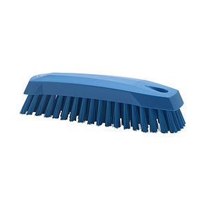 Щетка Vikan ручная скребковая, 165 мм, синий цвет
