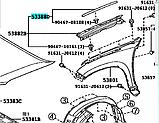 Кузовной уплотнитель PRADO 150 (правая сторона), фото 2