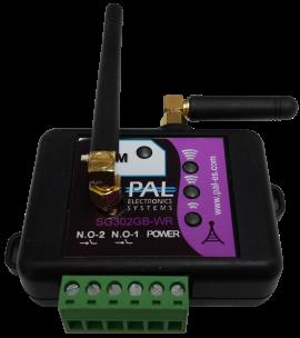 Модель KeyLock-2: GSM ключ, контроллер, модуль R