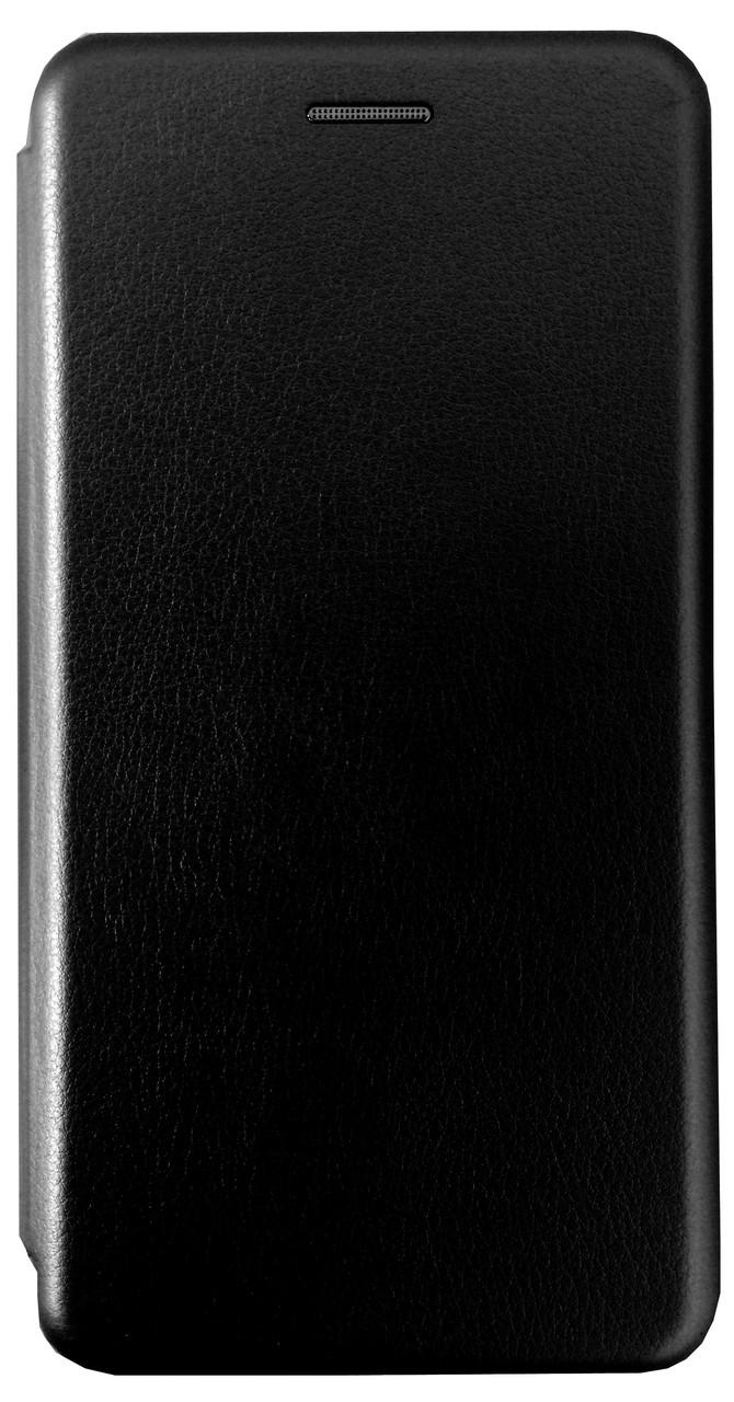 Кожаный чехол Open series на Samsung Galaxy S9 SM-G960F (черный)