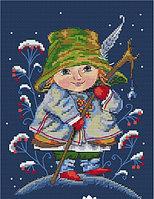 """Набор для вышивания крестом """"Рождественский колокольчик"""", фото 1"""