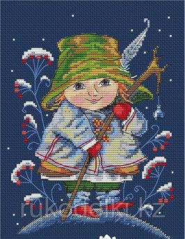 """Набор для вышивания крестом """"Рождественский колокольчик"""""""