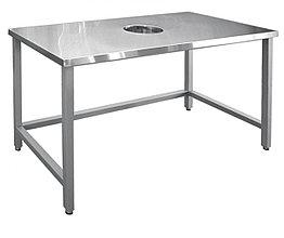 Стол для сбора отходов ССО-1 (вся нерж.)