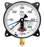 ДВ2005Ф манометр (вакуумметр) электроконтактный