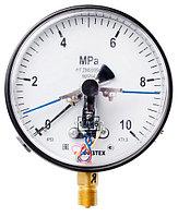 ДВ2005Ф IP53 манометр (вакуумметр) электроконтактный пылевлагозащищенный
