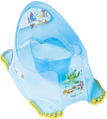 Детский горшок Tega Aqua (Тега Аква) антискользящий