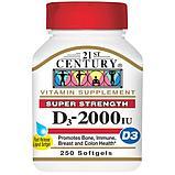 Витамин Д3 (Vitamin D3), 2000 МЕ (2000 IU), 250 капсул, фото 2