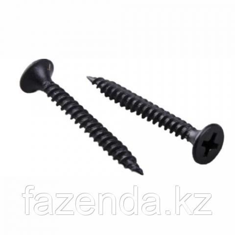 Шуруп для г/к черный 3,5х16 (мелк.шаг)  штучно