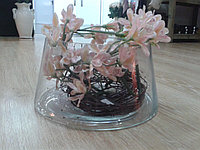 Чаша для цветов. Прозрачная