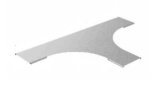 Крышка к Тройнику для лестничного лотка НЛОгц 400 (горячий цинк)