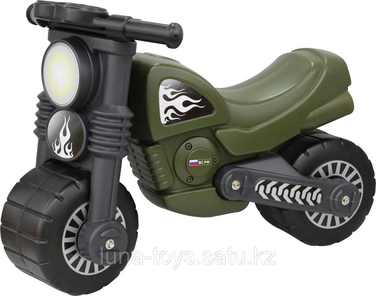 """Мотоцикл """"Моторбайк"""" военный"""