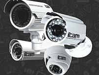 Уличные камеры IP видеонаблюдения iPanda