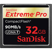 Карта памяти SanDisk Extreme PRO CompactFlash 32 Gb, 90 MB/s, скорость 600x