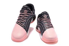 Баскетбольные кроссовки Adidas Harden Vol.1 from James Harden черно-розовые, фото 2