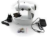Портативная мини швейная машинка. Mini sewing machine., фото 5