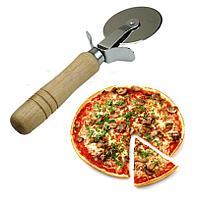 Нож для пиццы профессиональный (деревянная рукоятка)