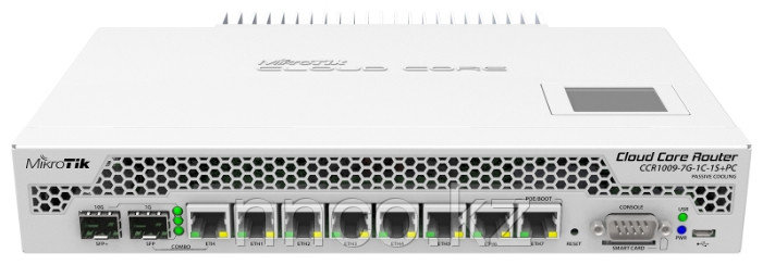 Маршрутизатор CCR1009-7G-1C-1S+PC