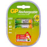 Аккумуляторная батарейка GP AAA  650mAh, 1.2V, фото 2