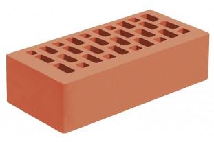 Кирпич красный облицовочный одинарный 1НФ