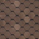 Битумная черепица Технониколь (Shinglas) Шинглас Ультра СБС модифицированная Самба Янтарь, фото 2