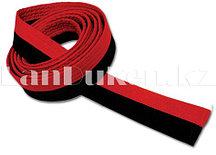 Пояс для кимоно 200 см красно-черный