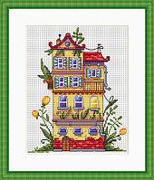"""Набор для вышивания крестом """"Весенний домик"""""""