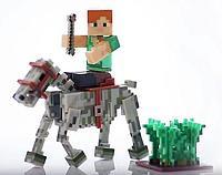"Minecraft Набор ""Алекс с Конем-Скелетом"""