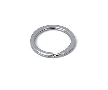 Металлическое глянцевое кольцо 24мм