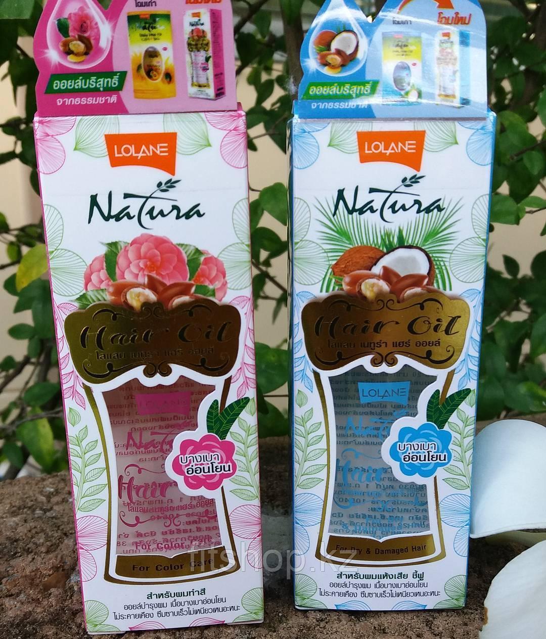 Масло для сухих и поврежденных волос на основе кокосового и арганового масла 65 мл.