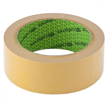 (88810) Лента клейкая двусторонняя, 38 мм х 10 м, на тканевой основе // СИБРТЕХ