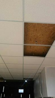 Подвесной потолок армстронг 8мм без комплектующих