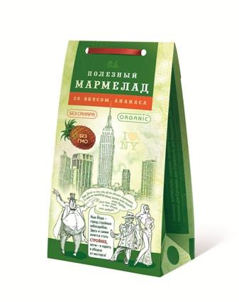 Мармелад Нью-Йорк для похудения с ананасом, 150гр