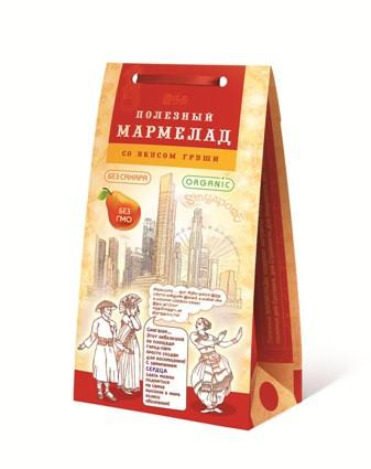 Мармелад Сингапур Для СЕРДЦА с Грушей, 150гр