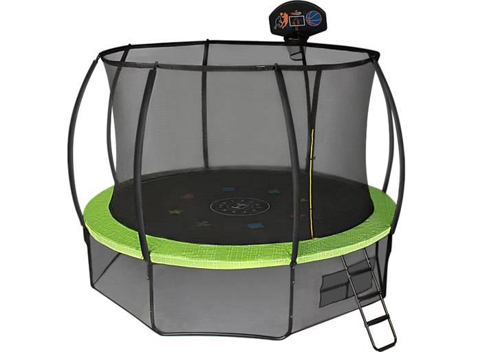 Батут Hasttings Air Game Basketball (3,66 м) с защитной сетью и лестницей - фото 3