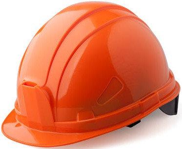 КАСКА СТРОИТЕЛЬНАЯ защитная оранжевая, фото 2