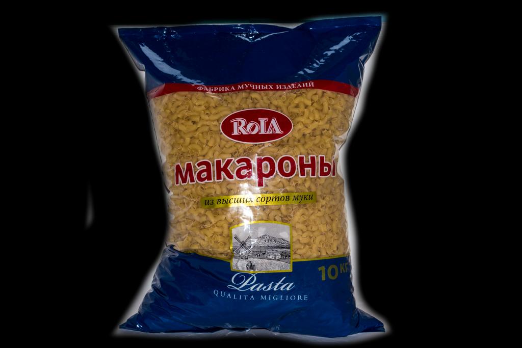 Макароны Rola 10кг.